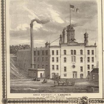 C. Magnus's Eagle Brewery in Cedar Rapids