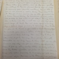 Second Keyes Letter from London, 1912