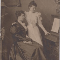 Rose Ettinger at Piano with Teacher