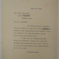 Harding Responds to Burzlaff