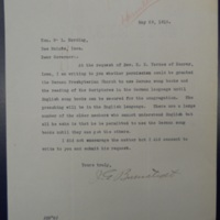 Presbyterian Permission
