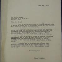Response to Moran regarding Postwar CoD