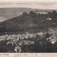 Postcard Image of Spangenberg, Germany with Castle