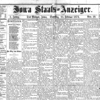 DM-Staatsanzeiger.1874-02-14.First-Eiboeck-Gehr-Issue.Front-Page.jpg