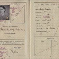 Ruth Salzmann Passport