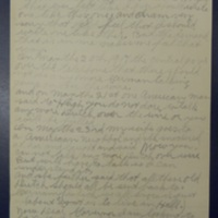 Three-page handwritten letter to Governor Harding on German Language Issue