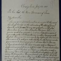 Vollmar Writes to Harding