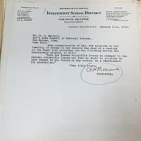 R. H. Williams to Herbert J. Metcalf, Jan. 16, 1918