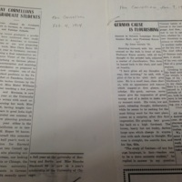 Cornell College Article on Teaching German in Wartime