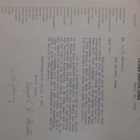 Reply to Letter About Joining the Army