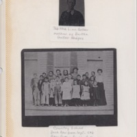 Photographs of mother and Elementary School