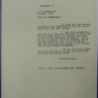 Response to Moeszinger