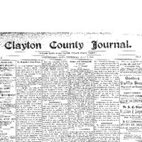 Clayton County Journal Masthead