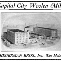 Ad for Capital City Woolen Mills