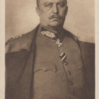 Postcard of General Ludendorff from Germany