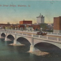 Postcard of Waterloo, Iowa, 1911