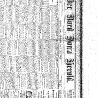 Masthead for Nord Iowa Herold