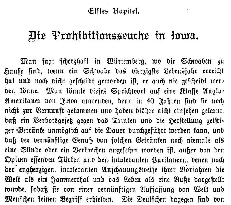Joseph Eiboeck, Die Deutschen von Iowa: Chapter 11