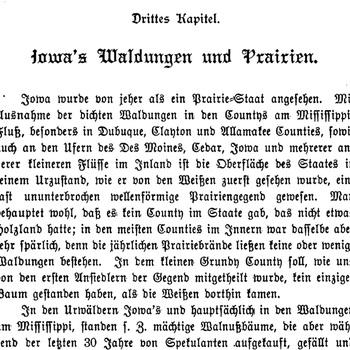 Joseph Eiboeck, Die Deutschen von Iowa: Chapter 3